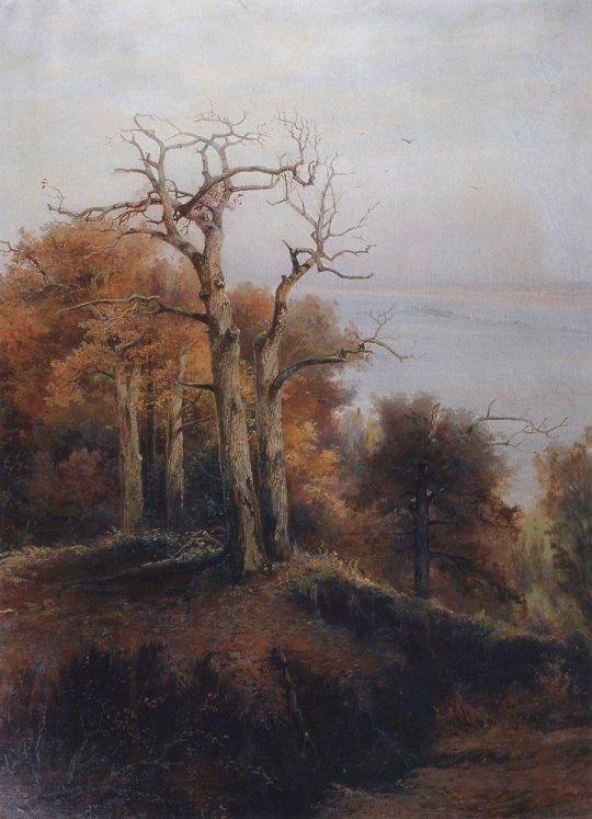 Осенний лес. Кунцево. Проклятое место