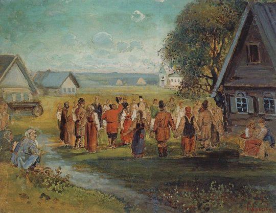 Хоровод в селе