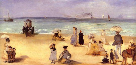 На пляже в Булоне
