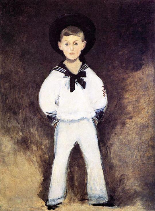 Портрет Анри Бернштейна в детстве