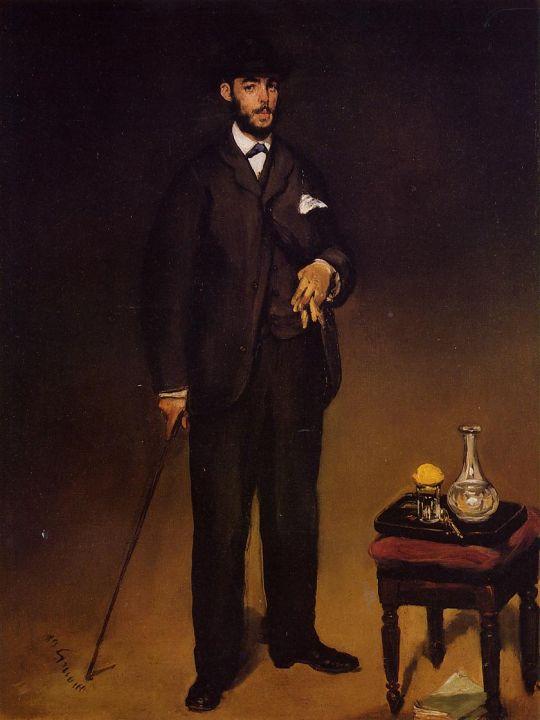 Портрет Теодора Дюрэ