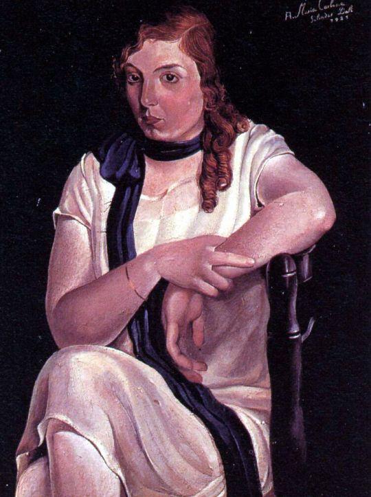 Портрет Марии Карбоне
