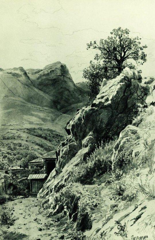 В горах Гурзуфа.