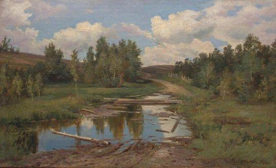 Лесной пейзаж1