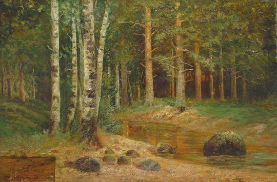 Лесной ручей2