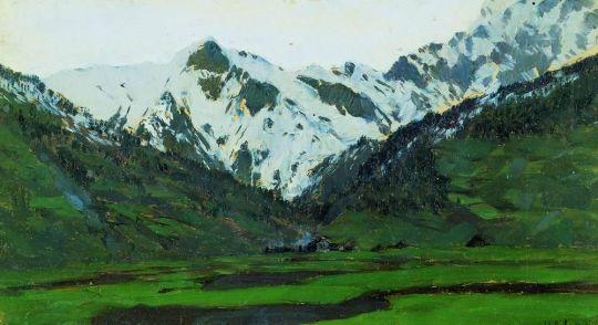 В Альпах весной.