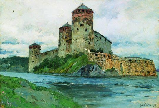 Крепость. Финляндия.