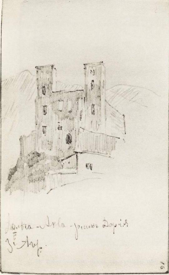 Развалины замка Дория.
