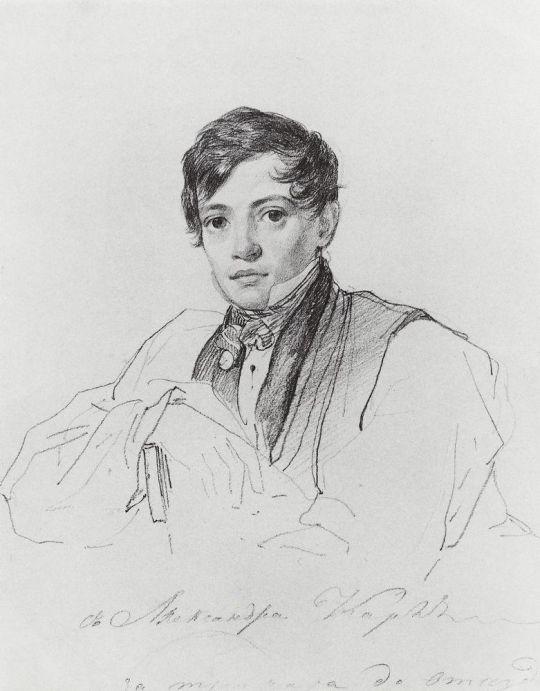 Портрет А.П.Брюллова.