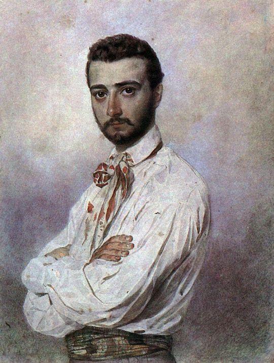 Портрет Винченцо Титтони.