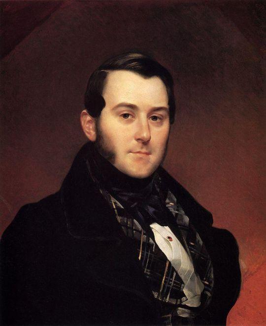 Портрет И.А.Бека. Около