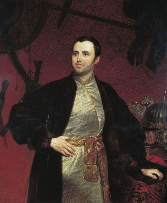 Портрет князя Михаила Андреевича Оболенского.