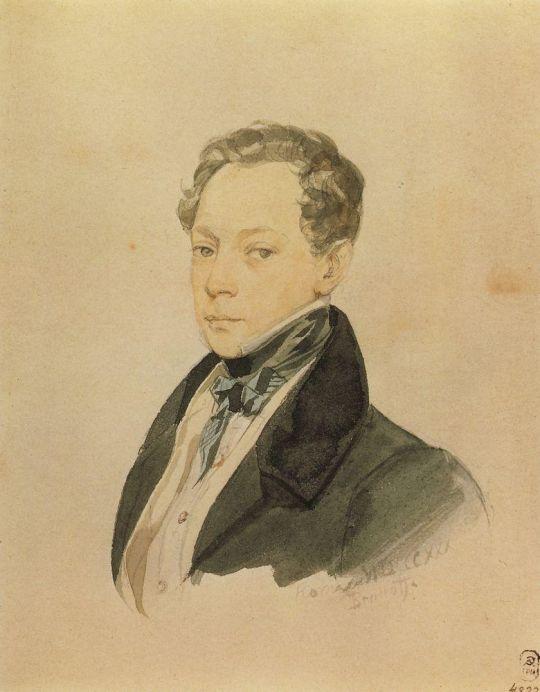 Портрет П.В.Басина.