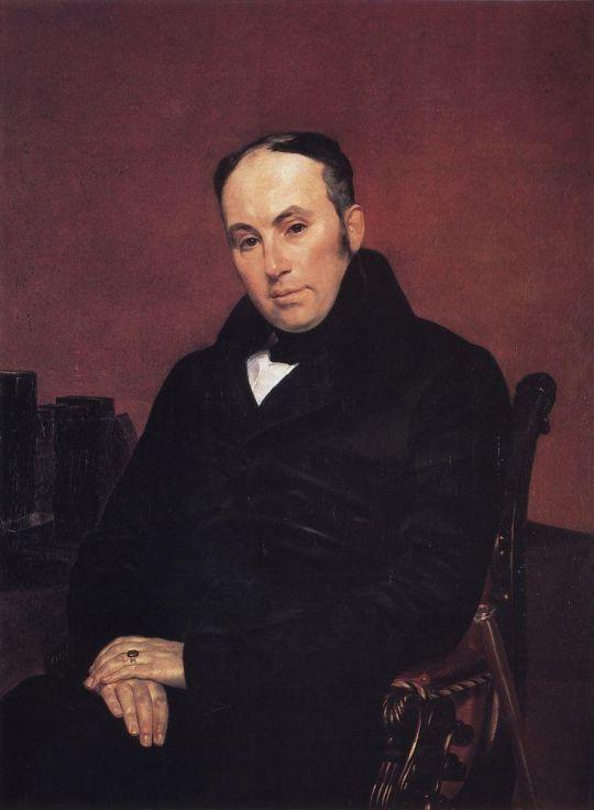 Портрет поэта В.А.Жуковского.
