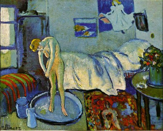 Голубая комната (Ванна).