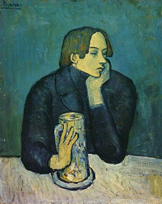 Портрет Хайме Сабартеса.