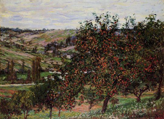 Яблони у Ветёй