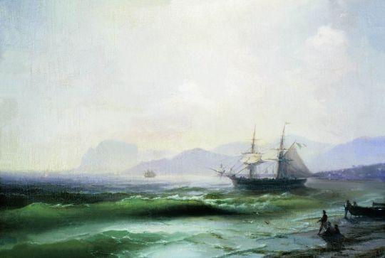 Беспокойное море