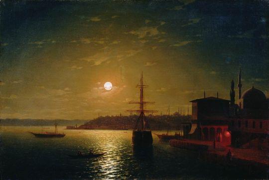 Бухта Золотой Рог. Турция. После 1845