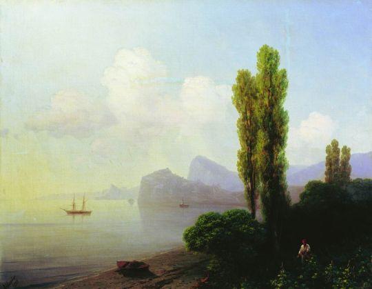 Вид Судакской бухты