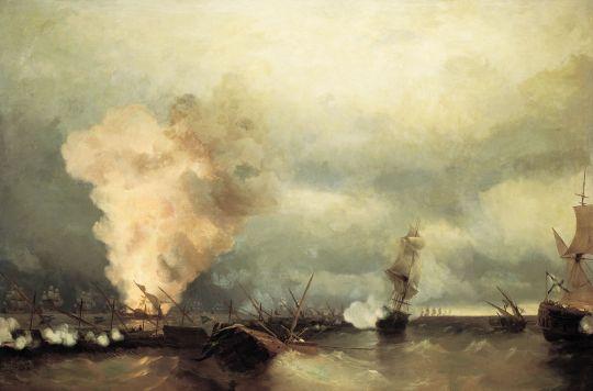 Морское сражение при Выборге 29 июня 1790 года