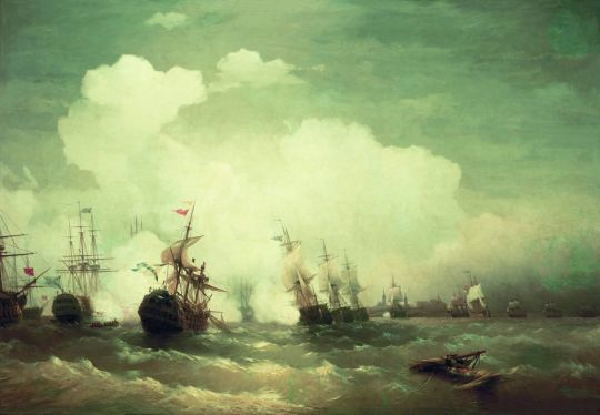 Морское сражение при Ревеле 2 мая 1790 года