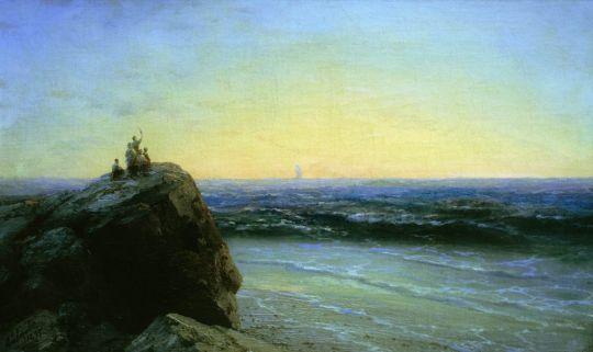 Прощание А.С. Пушкина с морем