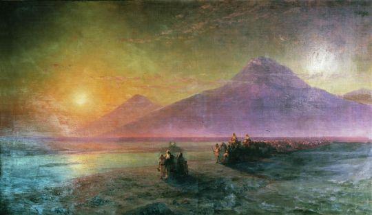 Сошествие Ноя с горы Арарат