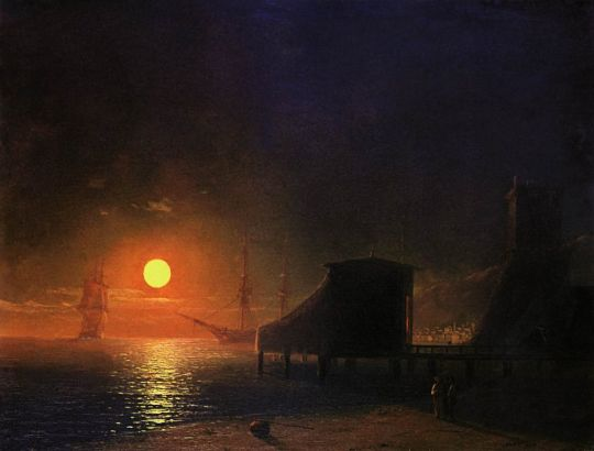 Феодосия. Лунная ночь