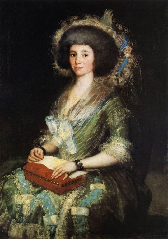 Портрет жены Хуана Агустина Бермудеса
