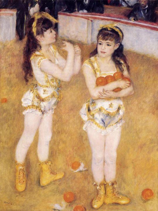 Акробаты в цирке Фернандо (также известная как Франциск и Анджелина Вартенберг)