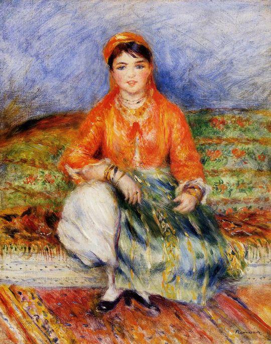 Алжирская девочка