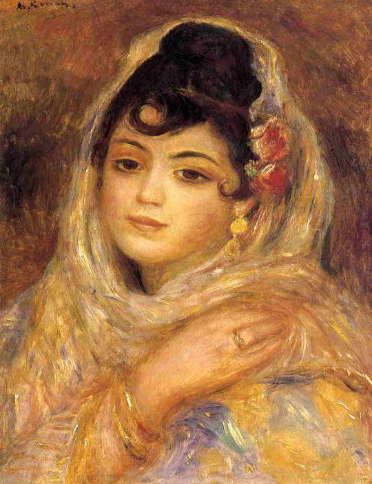 Алжирская женщина