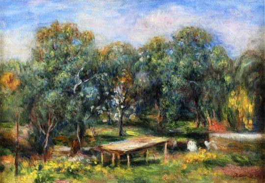 Пейзаж на Коллет