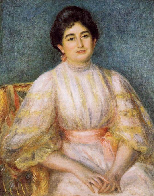 Мадам Поль Галлимар, рождённая Люси Дюш