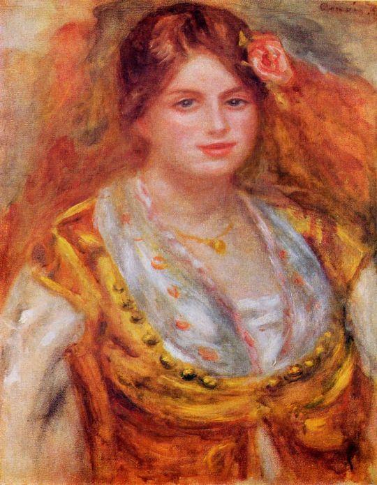 Портрет мадемуазель Франсуа