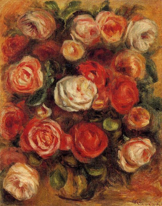Ваза роз