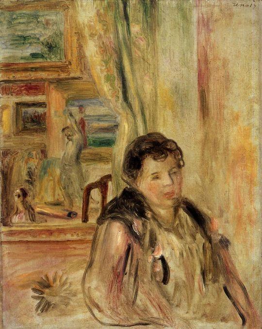 Женщина в комнате