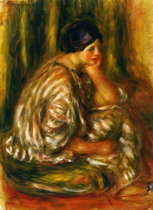 Женщина в восточном костюме