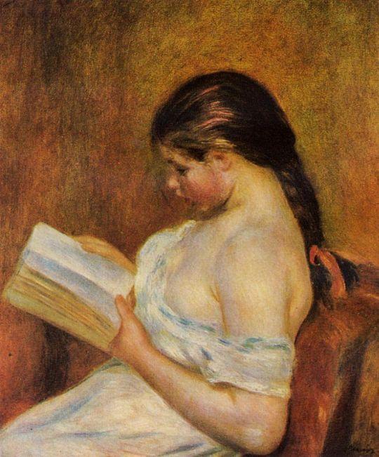Читающая девочка