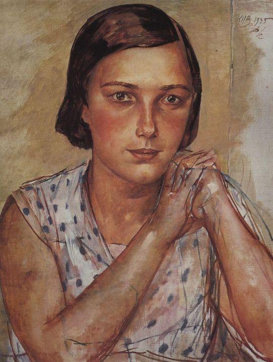 Портрет дочери художника.