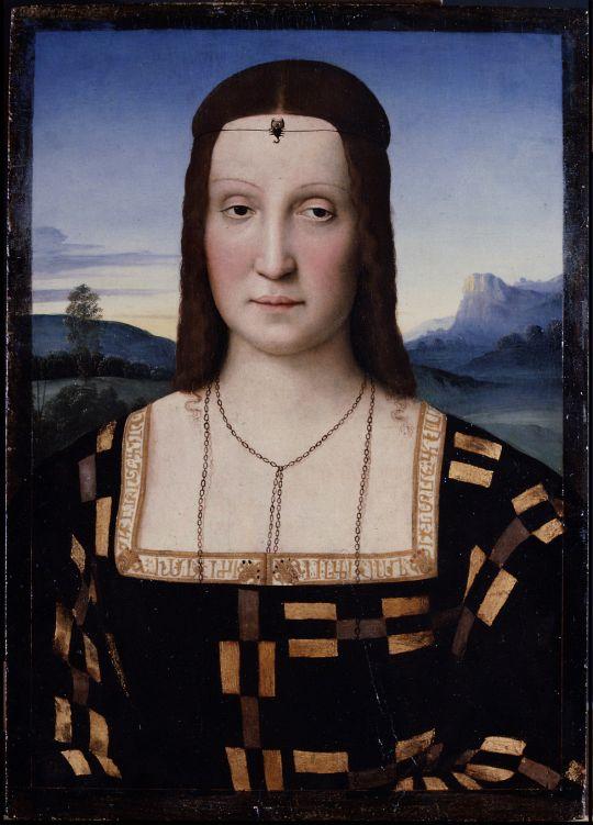 Портрет Элизабетта Гонзага