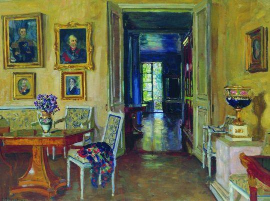 Комната в имении Брасово вел. кн. Михаила Александровича