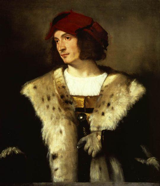 Портрет мужчины в красном колпаке