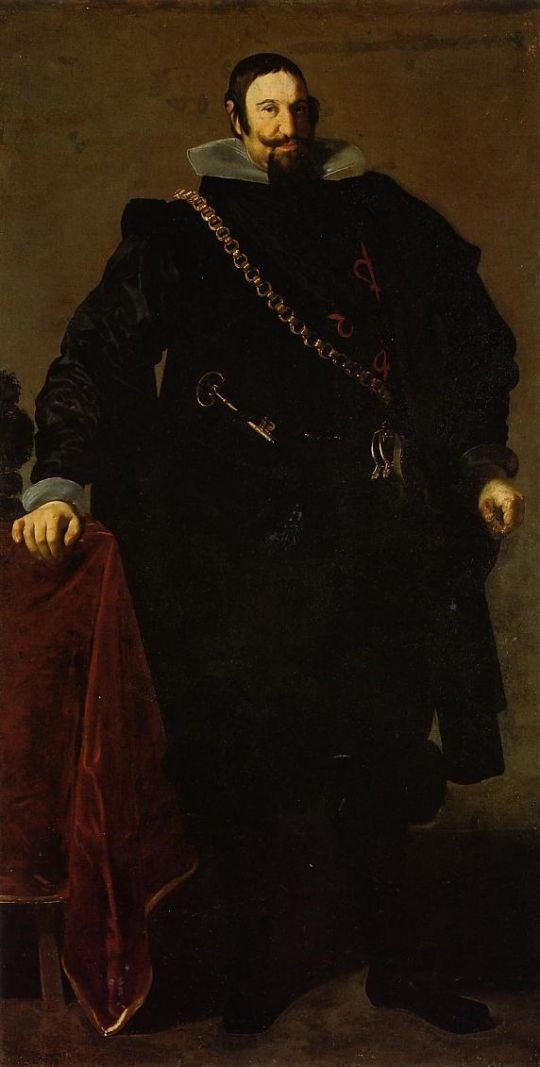 Дон Гаспар де Газмэн граф Ольварес и Герцог Сан Лукара ля Майор