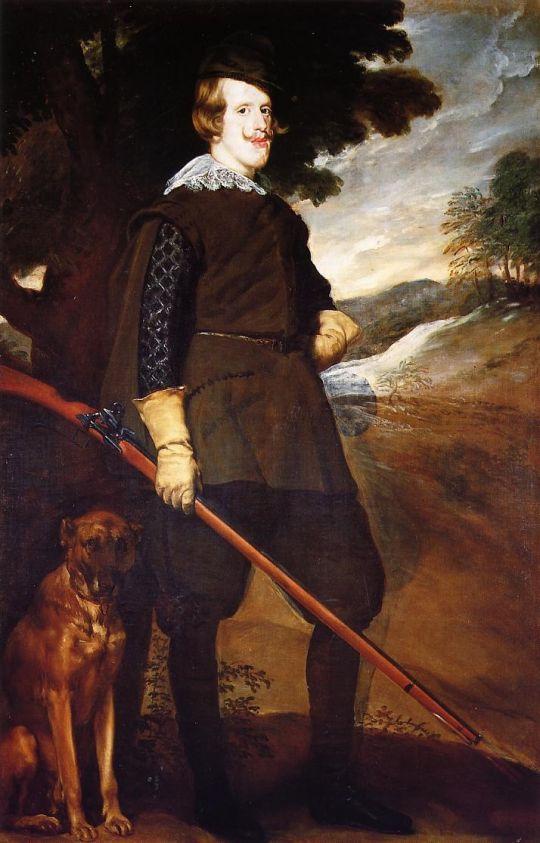 Филипп IV на охоте