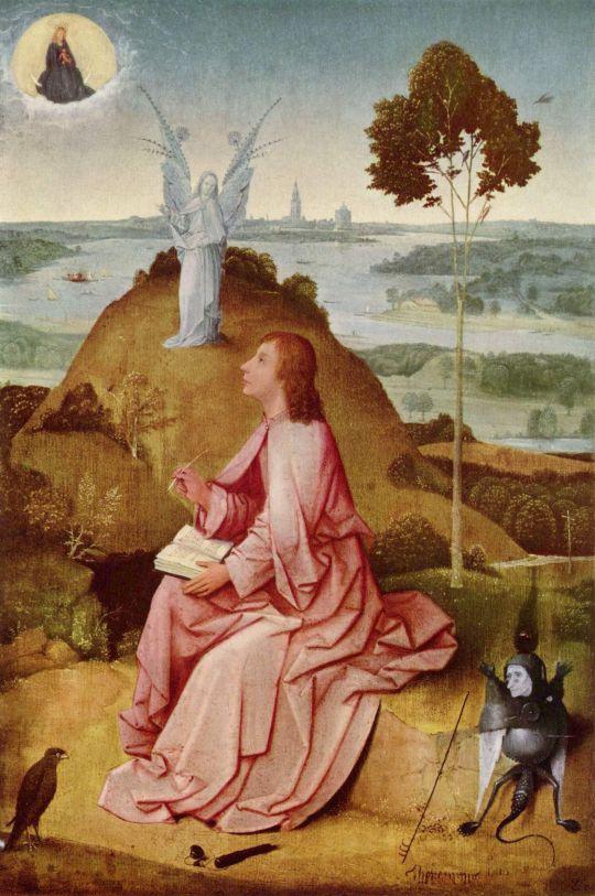 Святой Иоанн на Патмосе