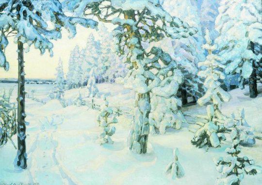 Зимний сон ( Зима ).