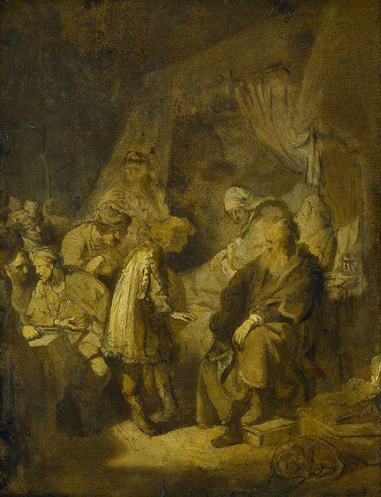 Иосиф рассказывает свои сны своим родителям и братьям