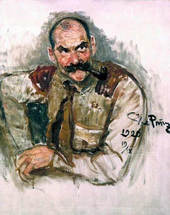 Портрет художника Галлен-Каллела. 1920